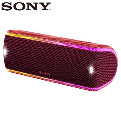 【返品OK!条件付】ソニー ワイヤレスポータブルスピーカー SRS-XB31-R ツートーンレッド【KK9N0D18P】【80サイズ】