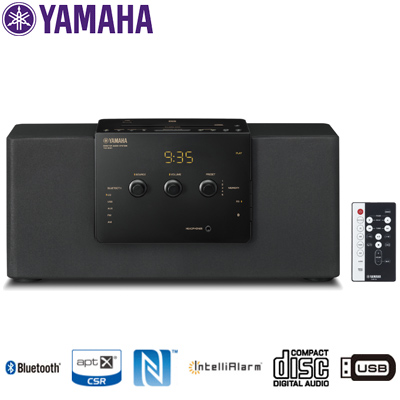 【KK9N0D18P】【140サイズ】 Bluetoothスピーカー 【返品OK!条件付】ヤマハ デスクトップオーディオシステム TSX-B141-B CD/FM・AMラジオ/USB接続対応/ コンポ ブラック
