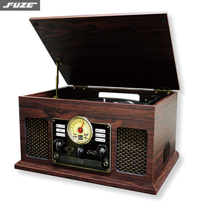【返品OK!条件付】フューズ Bluetooth対応 クラッシックレコードプレーヤー CLS50 FUZE【KK9N0D18P】【120サイズ】