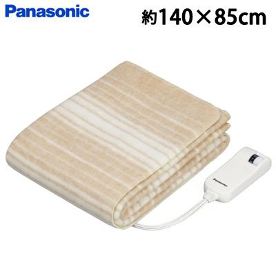 【返品OK!条件付】パナソニック 電気毛布 電気しき毛布 シングルSサイズ 約140×85cm DB-U31S-C ベージュ【KK9N0D18P】【100サイズ】