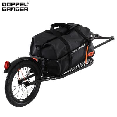 【返品OK!条件付】ドッペルギャンガー シングルホイールサイクルトレーラー DCR363-DP ブラック ビーズ【KK9N0D18P】【140サイズ】