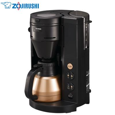 【返品OK!条件付】象印 コーヒーメーカー 珈琲通 EC-RS40-BA ブラック【KK9N0D18P】【120サイズ】