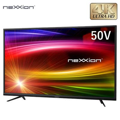【返品OK!条件付】外付けHDD録画対応 50V型 4K対応 液晶テレビ FT-K5020B ネクシオン neXXion【KK9N0D18P】【260サイズ】