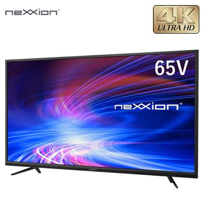 【返品OK!条件付】【設置無料】外付けHDD録画対応 65V型 4K対応 液晶テレビ FT-K6520B ネクシオン neXXion【KK9N0D18P】【260サイズ】