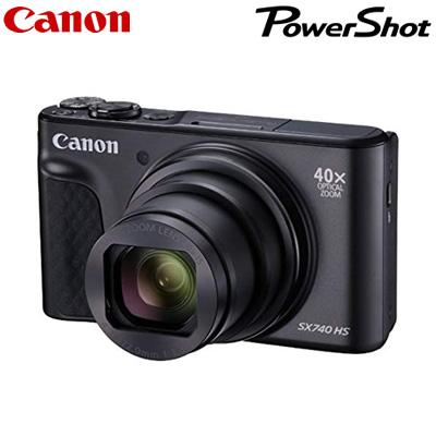 【キャッシュレス5%還元店】【返品OK!条件付】キヤノン コンパクトデジタルカメラ PowerShot SX740 HS PSSX740HS-BK ブラック CANON パワーショット【KK9N0D18P】【60サイズ】