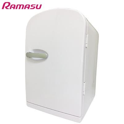 【キャッシュレス5%還元店】【返品OK!条件付】池商 6L ポータブル冷温庫 RAMASU RA-MR06-WH ホワイト【KK9N0D18P】【100サイズ】