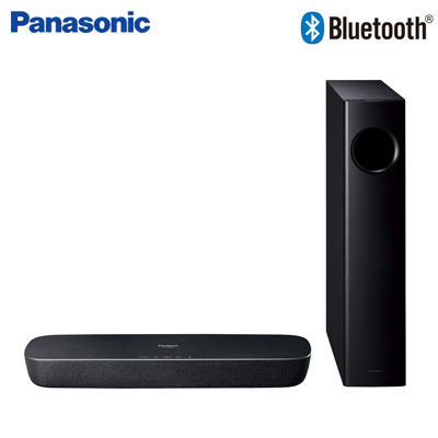 【返品OK!条件付】パナソニック ホームシアターシステム シアターバー ワイヤレスサブウーハー付モデル Bluetooth対応 SC-HTB250-K ブラック【KK9N0D18P】【140サイズ】