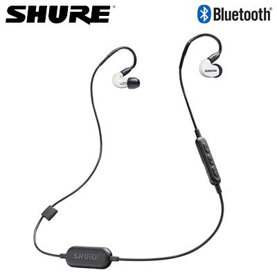 【返品OK!条件付】シュア SE215SPE-W-BT1-A ワイヤレス イヤホン SE215 Special Edition WIRELESS Bluetooth SE215SPEWBT1A ホワイト【KK9N0D18P】【60サイズ】