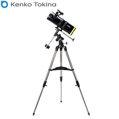 【キャッシュレス5%還元店】【返品OK!条件付】NATIONAL GEOGRAPHIC 80-10114 反射式天体望遠鏡 ブラック Kenko【KK9N0D18P】【140サイズ】
