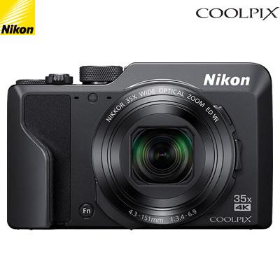 【返品OK!条件付】ニコン デジタルカメラ COOLPIX A1000 COOLPIX-A1000-BK ブラック【KK9N0D18P】【60サイズ】