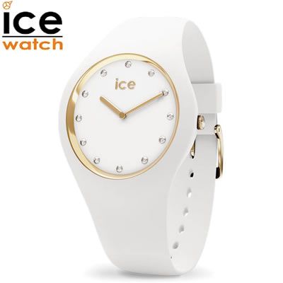 【キャッシュレス5%還元店】【返品OK!条件付】アイスウォッチ ICE-WATCH 腕時計 アイスコスモス ICE cosmos ホワイトゴールド ミディアム cosmos-016296 ユニセックス 男女兼用【KK9N0D18P】【60サイズ】