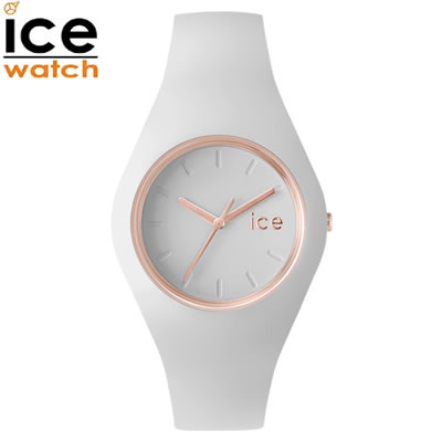 【キャッシュレス5%還元店】【返品OK!条件付】アイスウォッチ ICE-WATCH 腕時計 アイスグラム ICE glam ホワイトローズゴールド ミディアム glam-000978 ユニセックス 男女兼用【KK9N0D18P】【60サイズ】