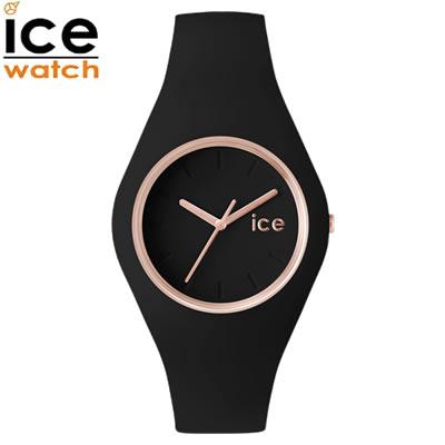 【返品OK!条件付】アイスウォッチ ICE-WATCH 腕時計 アイスグラム ICE glam ブラックローズゴールド ミディアム glam-000980 ユニセックス 男女兼用【KK9N0D18P】【60サイズ】