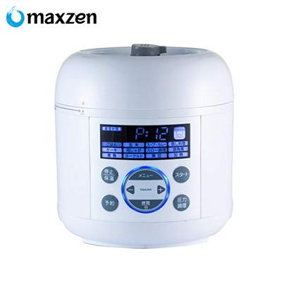 【返品OK!条件付】マクスゼン 電気圧力鍋 PCE-MX301-WH ホワイト【KK9N0D18P】【80サイズ】