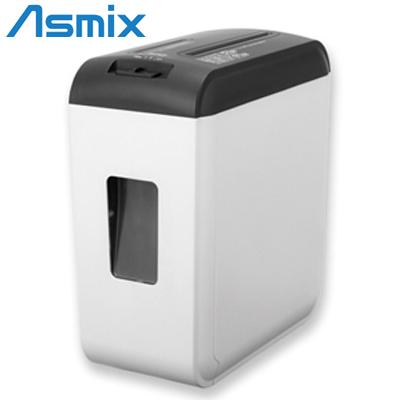 【返品OK!条件付】アスカ Asmix 電動 A4対応 クロスカット シュレッダー メディア細断 引き出し式ダストボックス S39C ホワイト【KK9N0D18P】【120サイズ】