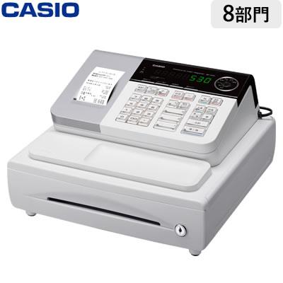 【返品OK!条件付】カシオ 電子レジスター レジスター SE-S30-WE ホワイト 軽減税率対策補助金対象【KK9N0D18P】【120サイズ】