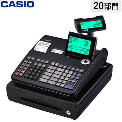 【返品OK!条件付】カシオ 電子レジスター レジスター TE-2700-20SBK ブラック 軽減税率対策補助金対象【KK9N0D18P】【120サイズ】