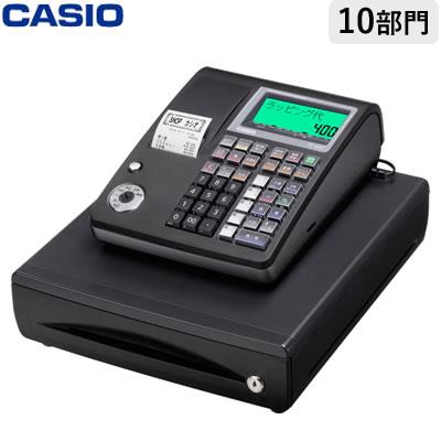 【返品OK!条件付】カシオ 電子レジスター レジスター TE-400-BK ブラック 軽減税率対策補助金対象【KK9N0D18P】【120サイズ】