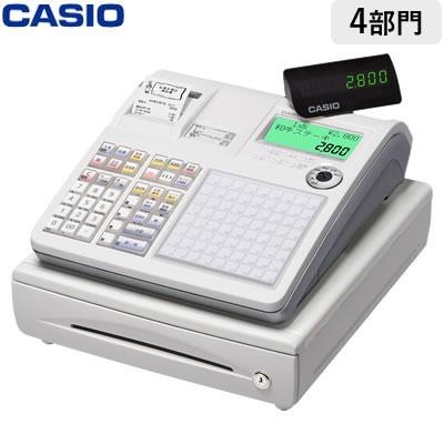 【返品OK!条件付】カシオ 電子レジスター ネットレジ TK-2800-4S ホワイト 軽減税率対策補助金対象【KK9N0D18P】【120サイズ】