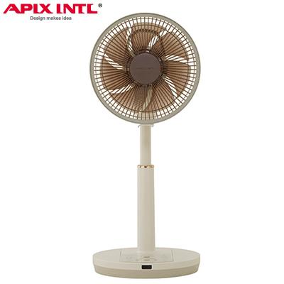 【返品OK!条件付】アピックス DCリビング扇風機 AFL-328R-CG アイボリー×シャンパンゴールド APIX【KK9N0D18P】【160サイズ】