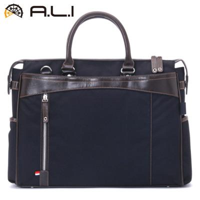 【キャッシュレス5%還元店】【返品OK!条件付】A.L.I ビジネスバッグ ビジネスカジュアル CORDURA AG-1402-BK ブラック【KK9N0D18P】【100サイズ】