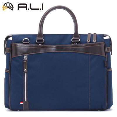 【返品OK!条件付】A.L.I ビジネスバッグ ビジネスカジュアル CORDURA AG-1402-NV ネイビー【KK9N0D18P】【100サイズ】