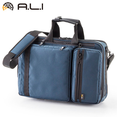 【キャッシュレス5%還元店】【返品OK!条件付】A.L.I ビジネスバッグ ビジネスカジュアル CORDURA AG-3620-NV ネイビー【KK9N0D18P】【100サイズ】