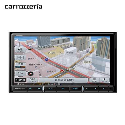 【返品OK!条件付】パイオニア カーナビ カロッツェリア 楽ナビ AVIC-RZ710 7V型HD チューナー・AV一体型【KK9N0D18P】【100サイズ】