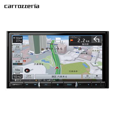 【返品OK!条件付】パイオニア カーナビ カロッツェリア 楽ナビ AVIC-RZ910 7V型HD チューナー・AV一体型【KK9N0D18P】【100サイズ】