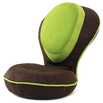 【返品OK!条件付】ドリーム プロイデア 背筋がGUUUN 美姿勢座椅子リッチ D-0070-5180-04 メッシュグリーン カバーが洗えるRICH【KK9N0D18P】【160サイズ】