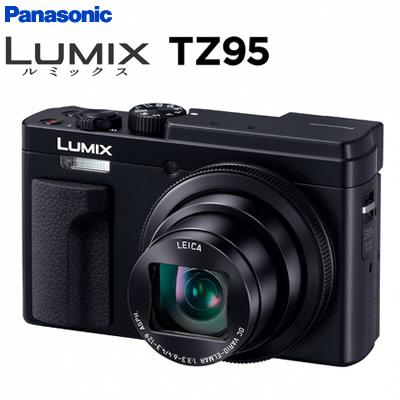 【返品OK!条件付】パナソニック デジタルカメラ コンパクトカメラ ルミックス LUMIX TZ95 DC-TZ95-K ブラック【KK9N0D18P】【60サイズ】