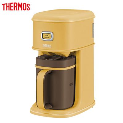 【キャッシュレス5%還元店】【返品OK!条件付】サーモス アイスコーヒーメーカー 0.31L ECI-661-CRML キャラメル【KK9N0D18P】【60サイズ】
