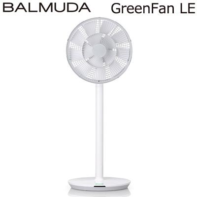 【返品OK!条件付】バルミューダ 扇風機 GreenFan LE グリーンファン LE DCモーター リモコン付 EGF-1400-WG ホワイト×グレー【KK9N0D18P】【120サイズ】
