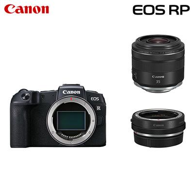 【キャッシュレス5%還元店】【返品OK!条件付】Canon キヤノン ミラーレス一眼カメラ EOS RP RF35 MACRO IS STM マウントアダプターキット EOSRP-35MISMADK【KK9N0D18P】【100サイズ】