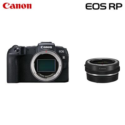【キャッシュレス5%還元店】【返品OK!条件付】Canon キヤノン ミラーレス一眼カメラ EOS RP マウントアダプターキット EOSRP-BODYMADK【KK9N0D18P】【100サイズ】