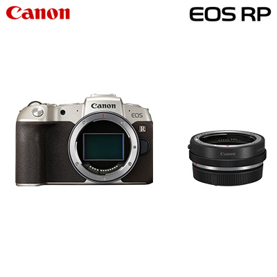 【キャッシュレス5%還元店】【返品OK!条件付】Canon キヤノン ミラーレス一眼カメラ EOS RP マウントアダプターSPキット EOSRPGL-BODYMADK ゴールド【KK9N0D18P】【100サイズ】