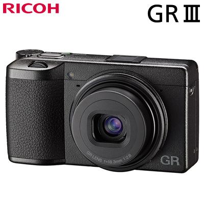 【返品OK!条件付】リコー デジタルカメラ RICOH GR III GRシリーズ タッチパネル搭載 ハイエンドコンパクトデジタルカメラ GRIII【KK9N0D18P】【60サイズ】