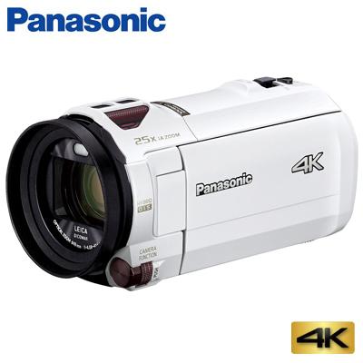 【返品OK!条件付】パナソニック デジタル 4K ビデオカメラ 64GB 4K AIR HC-VX992M-W ピュアホワイト【KK9N0D18P】【60サイズ】