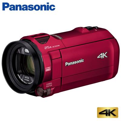 【キャッシュレス5%還元店】【返品OK!条件付】パナソニック デジタル 4K ビデオカメラ 64GB 4K AIR HC-VZX992M-R アーバンレッド【KK9N0D18P】【60サイズ】