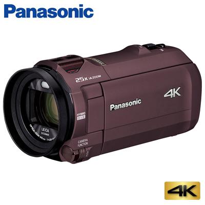 【キャッシュレス5%還元店】【返品OK!条件付】パナソニック デジタル 4K ビデオカメラ 64GB 4K AIR HC-VZX992M-T カカオブラウン【KK9N0D18P】【60サイズ】
