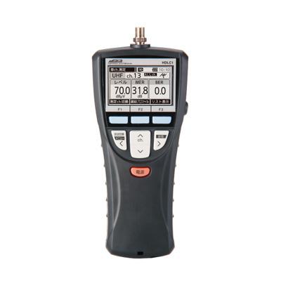 【キャッシュレス5%還元店】【返品OK!条件付】日本アンテナ 電界強度測定器 電界強度測定器 HDLC1 クロ【KK9N0D18P】【60サイズ】
