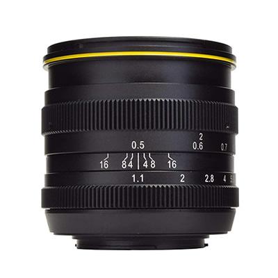 【キャッシュレス5%還元店】【返品OK!条件付】KAMLAN カムラン 単焦点レンズ FS50mm F1.1 フジXマウント KAM0011【KK9N0D18P】【120サイズ】