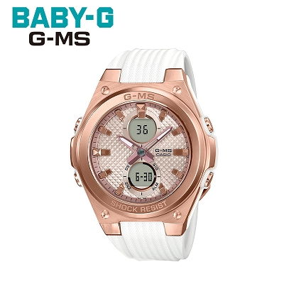 【キャッシュレス5%還元店】【返品OK!条件付】【正規販売店】カシオ 腕時計 CASIO BABY-G レディース MSG-C100G-7AJF 2019年5月発売モデル【KK9N0D18P】【60サイズ】