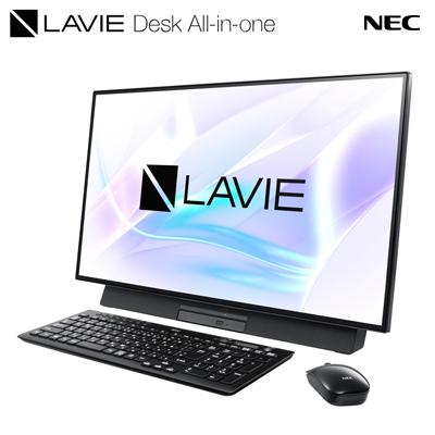 【安心の30日以内返品OK!条件付】 【キャッシュレス5%還元店】【返品OK!条件付】NEC デスクトップパソコン LAVIE Desk All-in-one DA500/MAB PC-DA500MAB ファインブラック 27型ワイド 2019年春モデル【KK9N0D18P】【160サイズ】