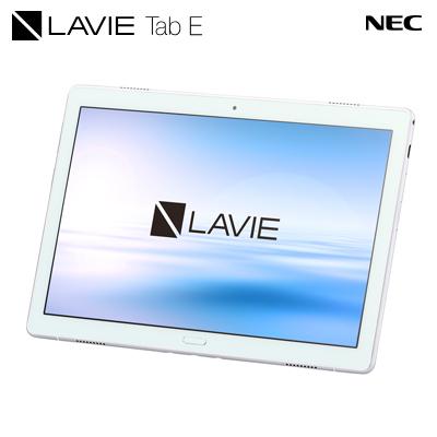 【返品OK!条件付】NEC Androidタブレット LAVIE Tab E TE510/JAW PC-TE510JAW ホワイト 10.1型ワイド【KK9N0D18P】【80サイズ】