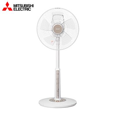 【キャッシュレス5%還元店】【返品OK!条件付】三菱 ACモーター扇風機 リビング扇 本体操作タイプ R30J-MW-W ピュアホワイト【KK9N0D18P】【140サイズ】