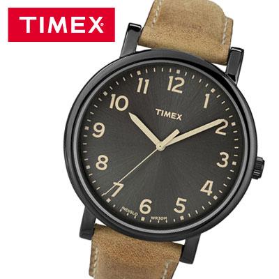 【キャッシュレス5%還元店】【返品OK!条件付】腕時計 メンズ モダン イージーリーダー タン 42mm タイメックス T2N677【KK9N0D18P】【60サイズ】