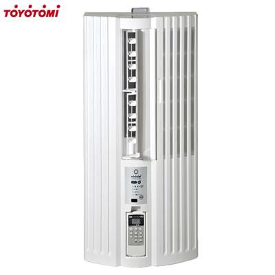 【返品OK!条件付】トヨトミ 4.5~7畳用 冷房専用 人感センサー付 窓用エアコン ウインドエアコン TIW-AS180J-W ホワイト【KK9N0D18P】【140サイズ】