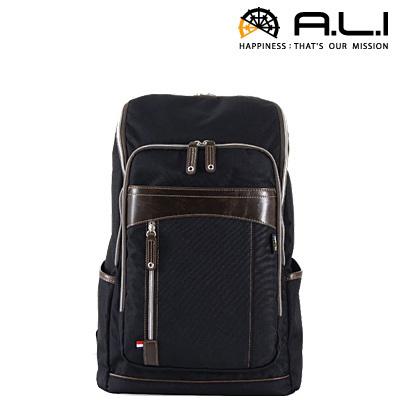 【返品OK!条件付】A.L.I アジア・ラゲージ リュック ビジネスカジュアル CORDURA コーデュラシリーズ AG-1515-BK ブラック 【KK9N0D18P】【100サイズ】