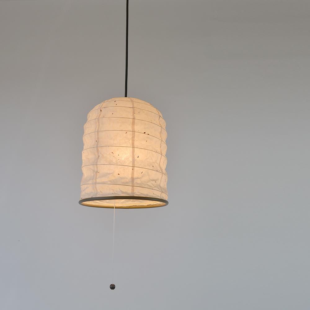 【キャッシュレス5%還元店】【返品OK!条件付】彩光デザイン 和照明 和紙照明 ペンダントライト 1灯 【電球別売】 によど川粕紙 日本製 和風照明 SPN1-1097 【KK9N0D18P】【120サイズ】